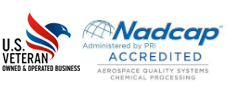 U.S. Veteran Owned & Operated Business and Accredited Nadcap Chemical Processing