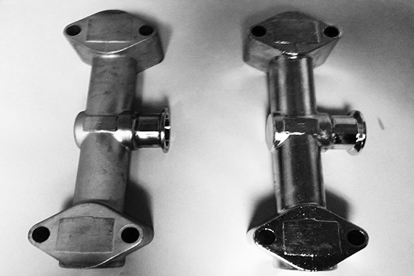 316 stainless steel before and after electropolish
