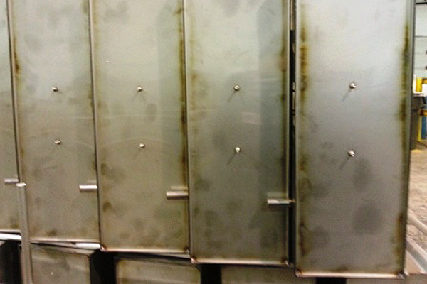 304 stainless steel before pickle passivate